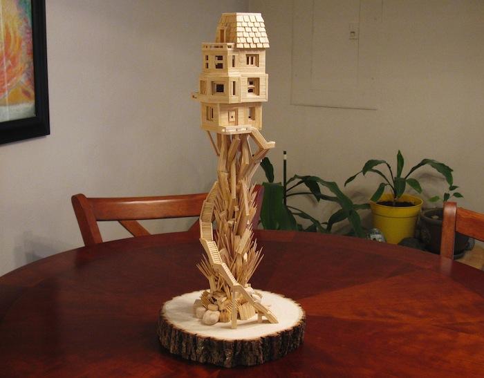 Toothpick Treehouse