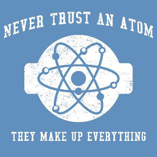You Can't Trust Atoms