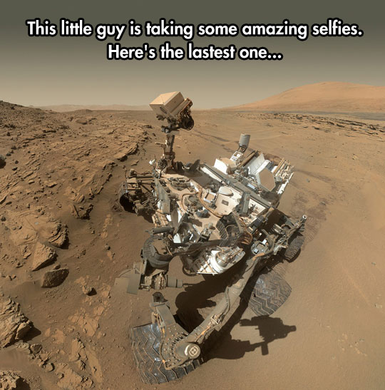 Blows My Mind That That Picture Is Actually Taken On Another Planet