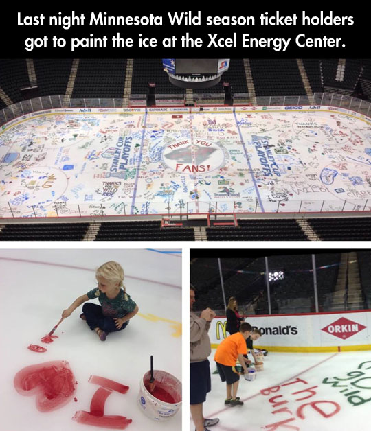 The Ice Belongs To The Fans