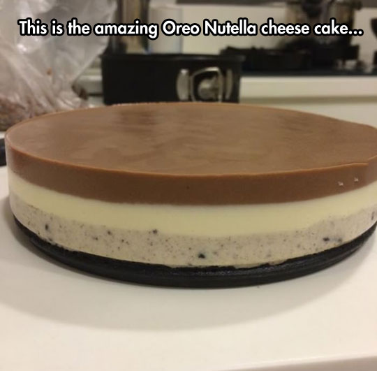 cool-Oreo-Nutella-cheesecake-food