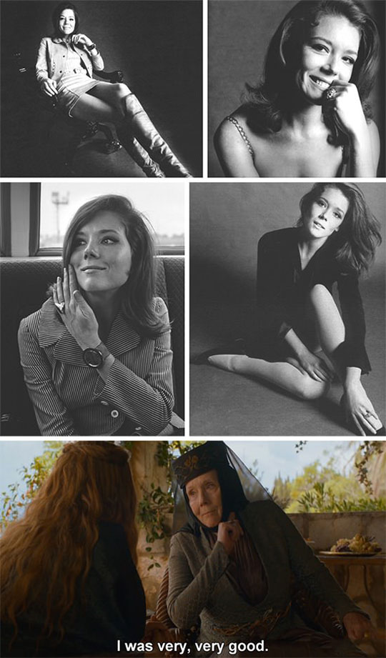 Game of Thrones' Olenna Tyrell Was Beautiful
