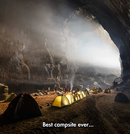cool-campsite-tent-cave-light