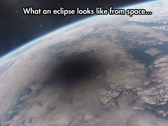 An Eclipse From Space
