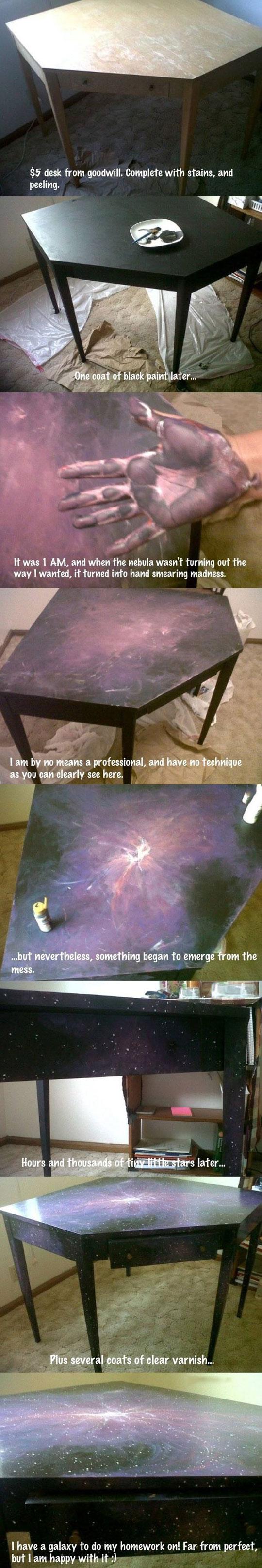 cool-galaxy-table-paint-job