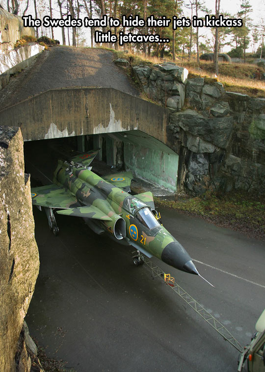 How The Swedes Hide Their Jets