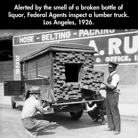 Catching Bad Guys Back In The Prohibition Days