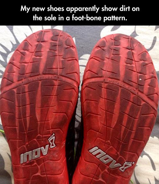 Great Shoe Sole Pattern