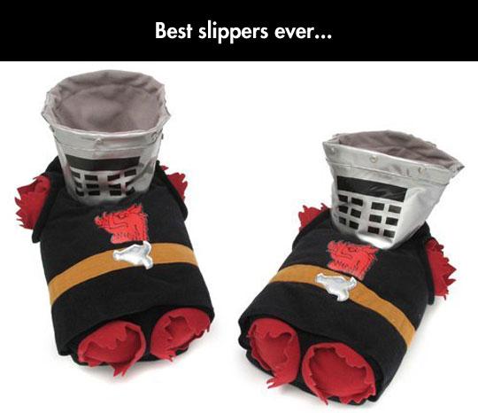 Monty Python Black Knight Slippers