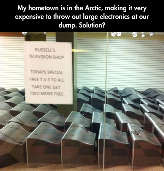 funny-Arctic-TV-free-note-shop