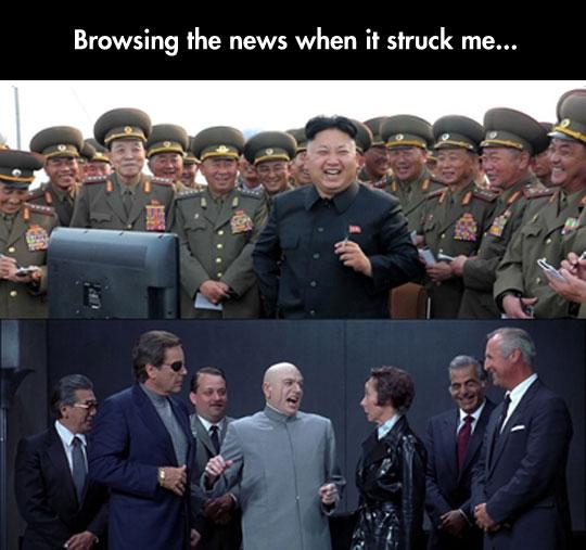 funny-Austin-Powers-evil-laugh-Kim-Jong-Un
