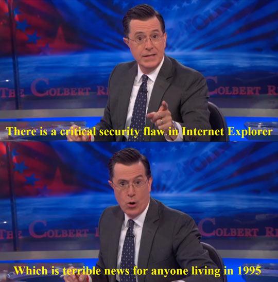 A Flaw In Internet Explorer