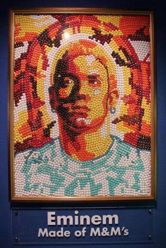 Eminem In M&Ms