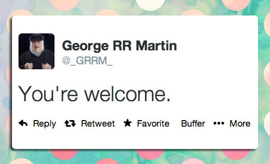 funny-George-RR-Martin-Twitter-welcome
