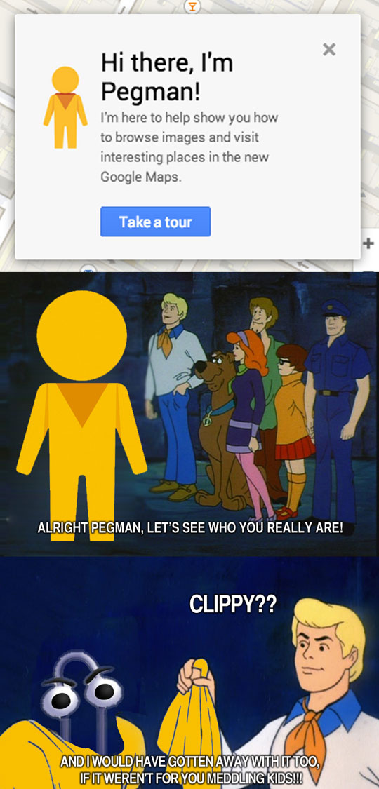 Let's See Who You Really Are, Pegman