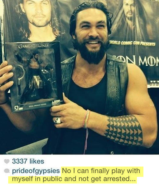 Jason Momoa, Ladies And Gentlemen