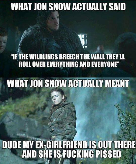 funny-Jon-Snow-talk-Game-Thrones