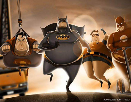 funny-Justice-League-fat-heroes