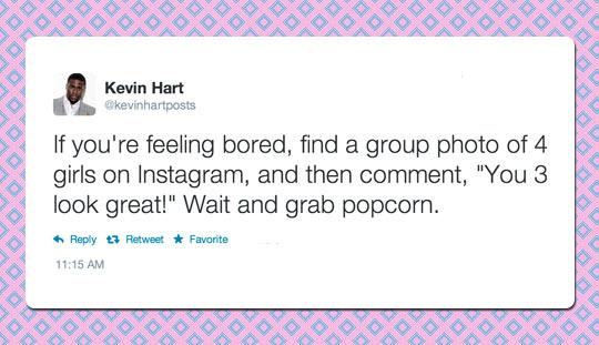 Kevin Hart Advice