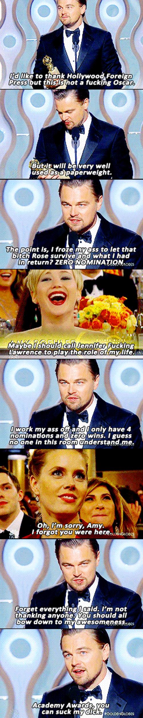 Leo Has Had Enough