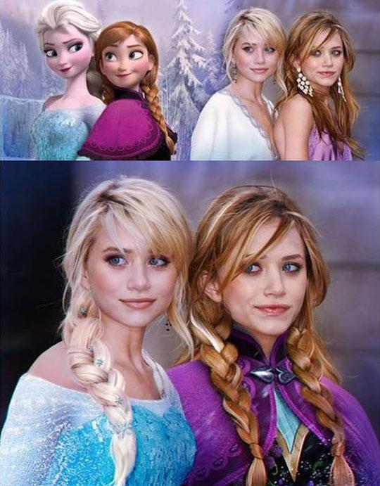The Frozen Olsen Twins
