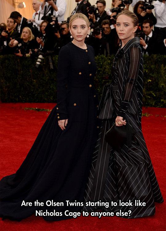 funny-Olsen-Twins-Nicolas-Cage-looking