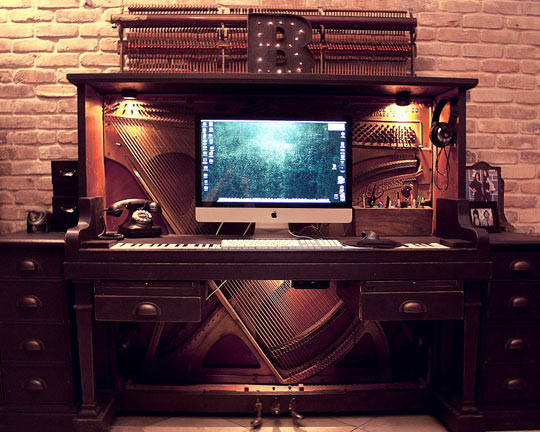 The Fanciest Desk I've Ever Seen