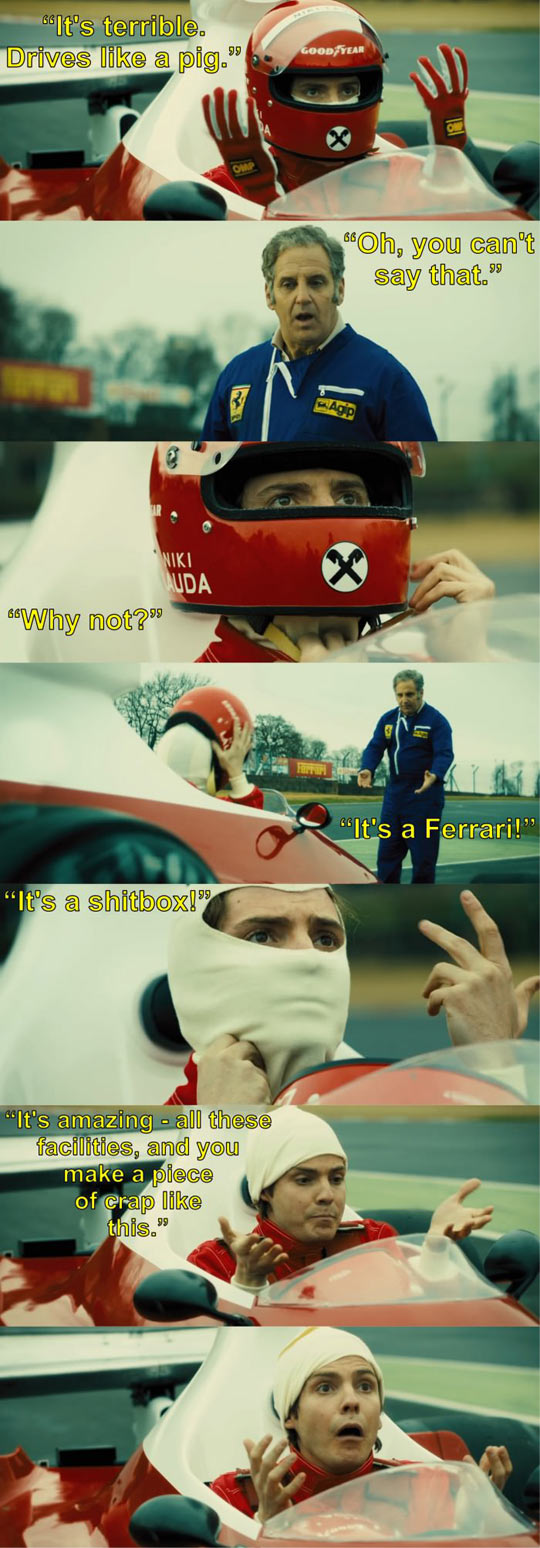 Niki Lauda Is A True Ferrari Fan