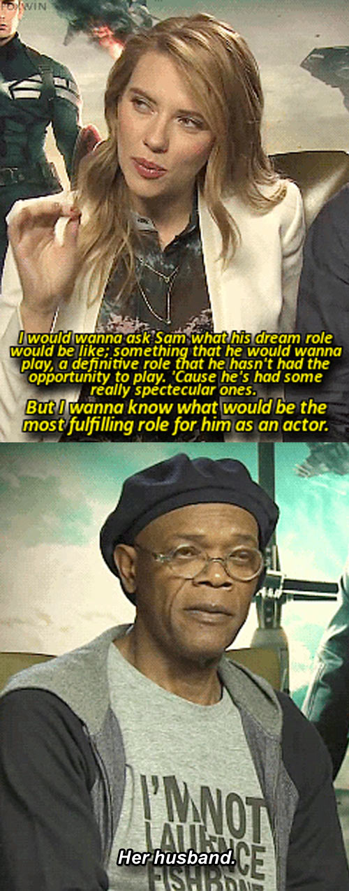 Samuel L. Jackson Being Smooth