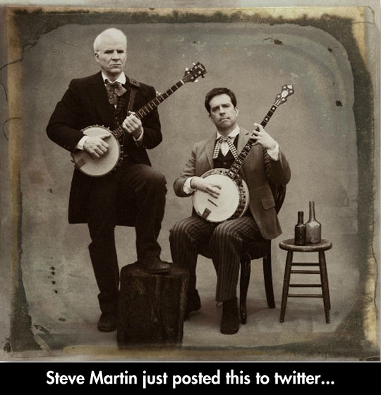 Steve And Ed With Banjos