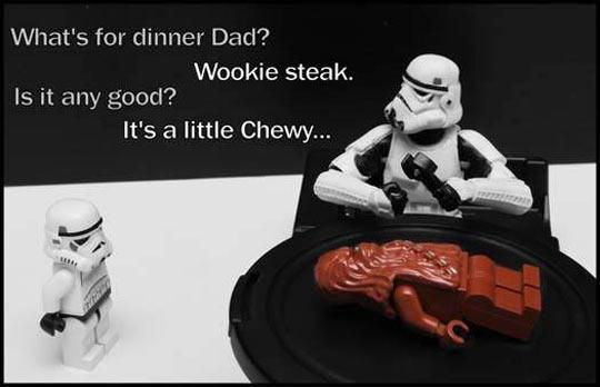 Stormtrooper's Family Dinner