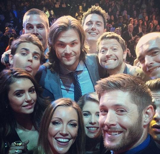 funny-Supernatural-selfie-actors-awards