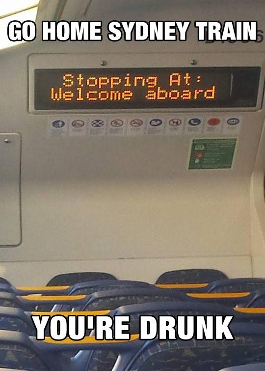 Trains In Sydney
