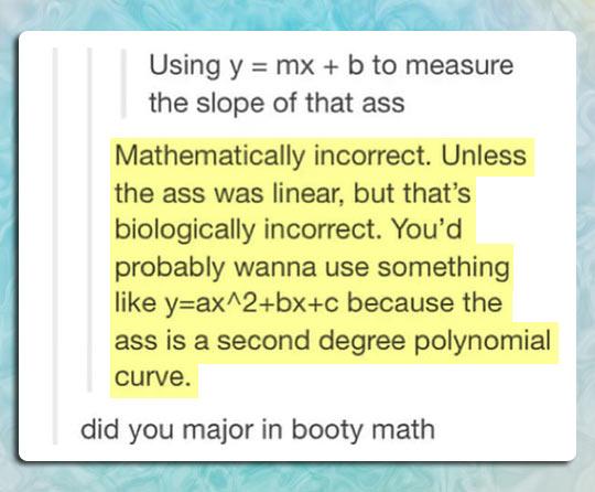 Butt Math
