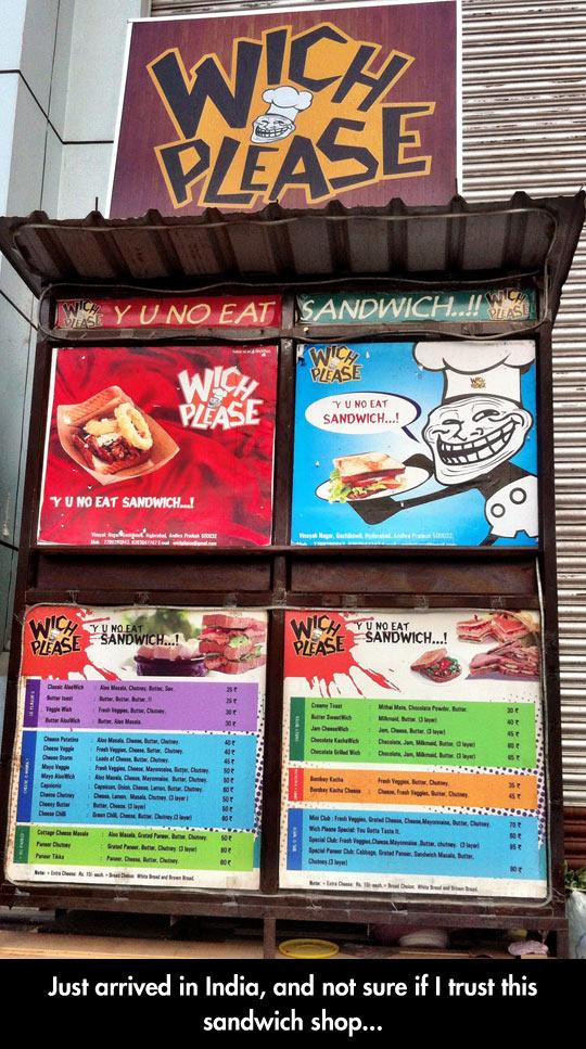 Sandwich Shop In India