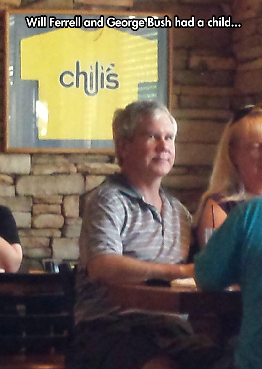 funny-Will-Ferrell-Bush-son-lookalike