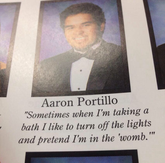 Senior Quote From My Yearbook