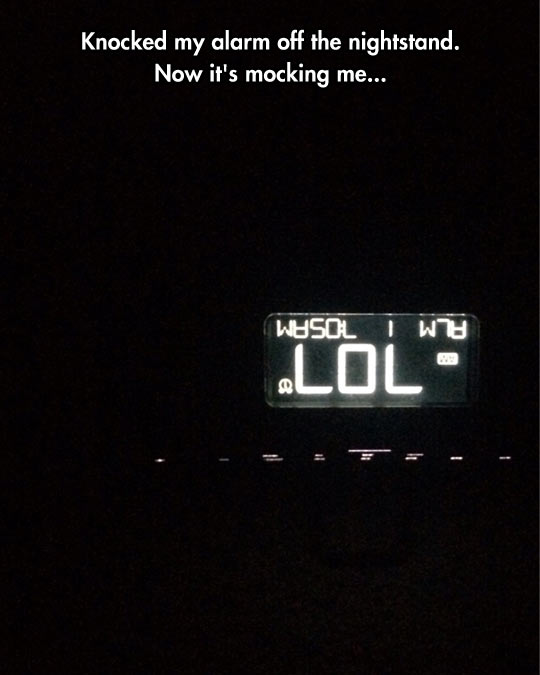 Disrespectful Alarm Clock