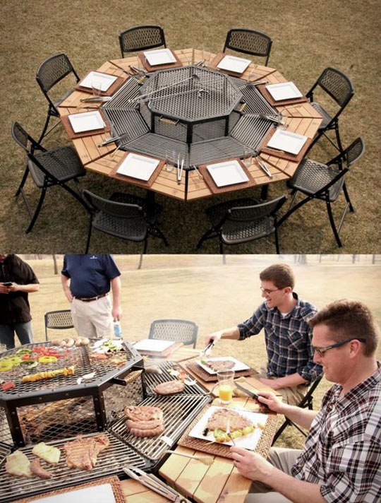 Best BBQ Table Ever
