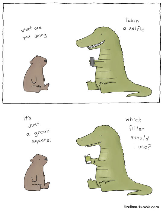 funny-beaver-alligator-selfie-phone