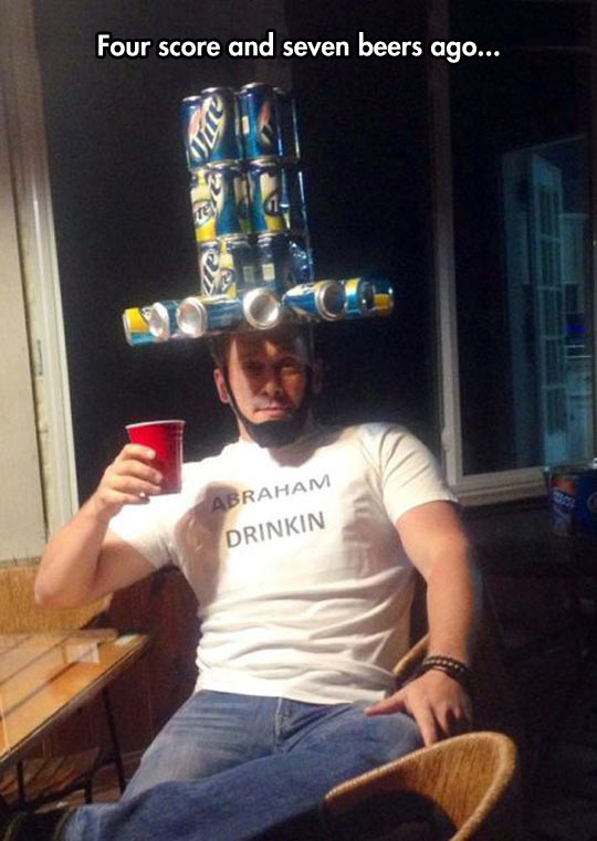 funny-beer-can-hat-Abraham-shirt