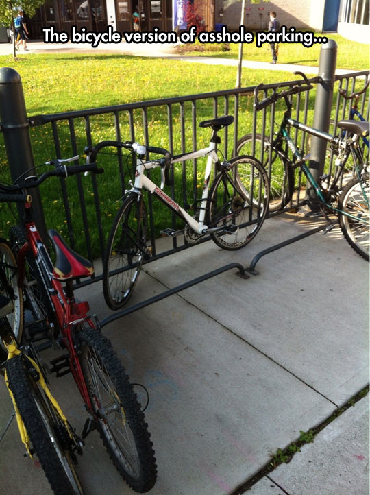 Scumbag Bicycle Parking