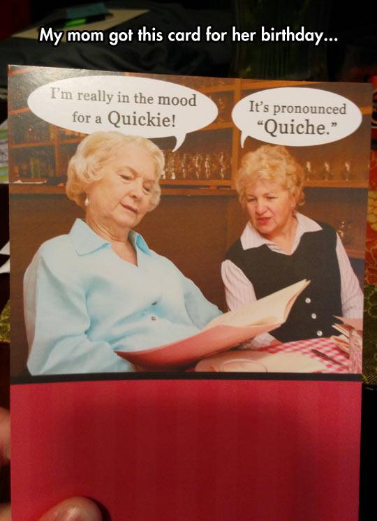 Funny Birthday Card Old Ladies