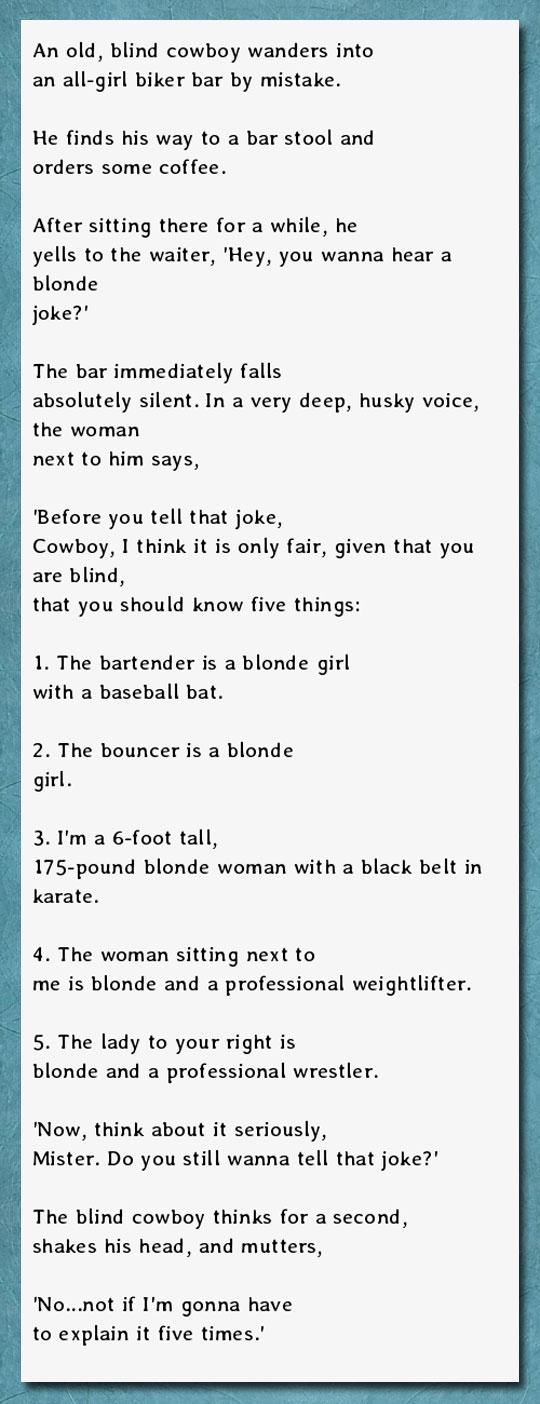 funny-blind-man-joke-blonde-woman