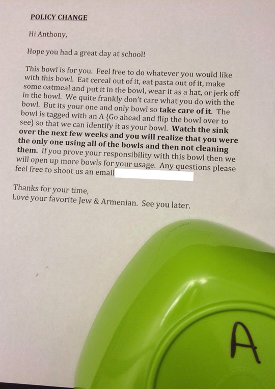funny-bowl-cereal-note-roommate