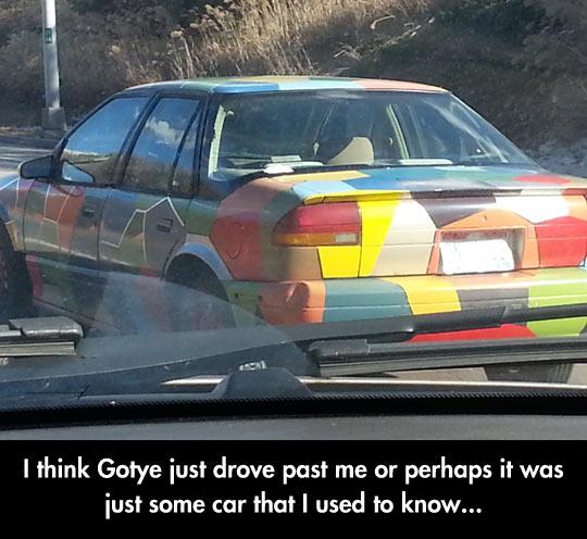 Gotye Car