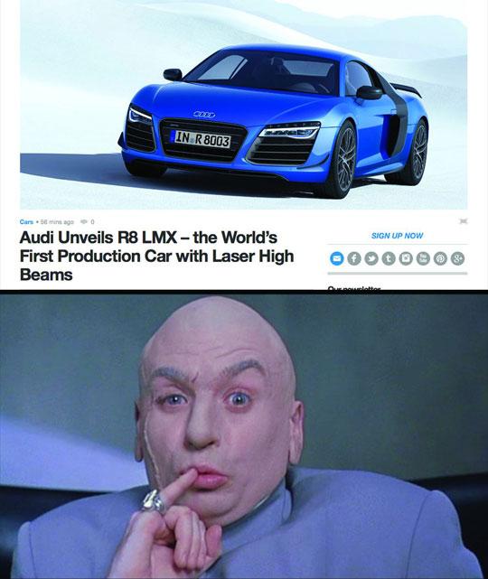 Freaking Laser Beams