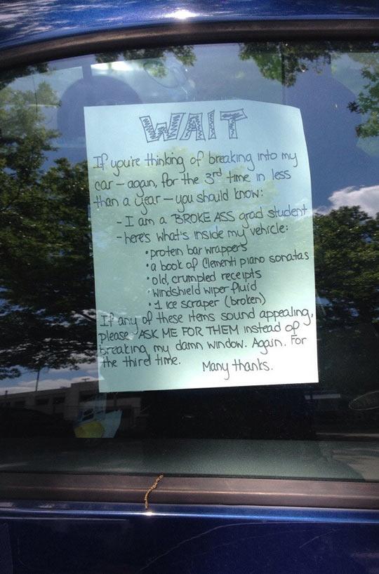 funny-car-sign-breaking-window