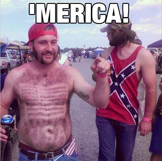 So Much America It Hurts My Eyes