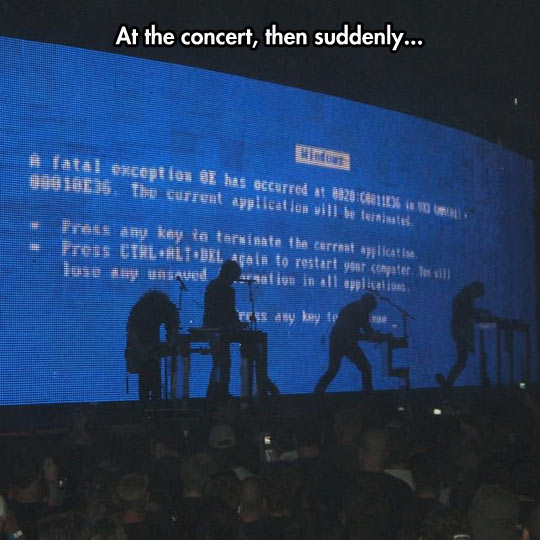 Awkwardness In Concert